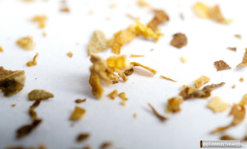 макро фото табак